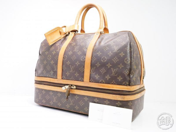 AUTHENTIC PRE-OWNED LOUIS VUITTON VINTAGE MONOGRAM SAC SPORT SOFT LUGGAGE BAG M41444 200018
