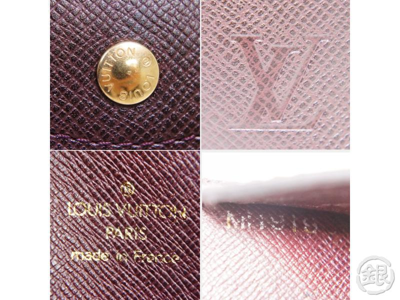 AUTHENTIC PRE-OWNED LOUIS VUITTON TAIGA VIP Limited NOVELTY DOCUMENT CASE CLUTCH BAG M99087 192003