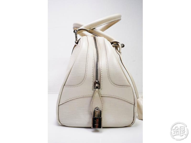 AUTHENTIC PRE-OWNED LOUIS VUITTON LV EPI IVOIRE IVORY BOWLING MONTAIGNE GM HAND BAG M5931J 200007