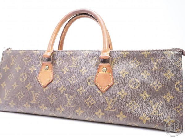 AUTHENTIC PRE-OWNED LOUIS VUITTON VINTAGE MONOGRAM SAC TRICOT TRIANGLE KNITTING NO.76 M51360 200031