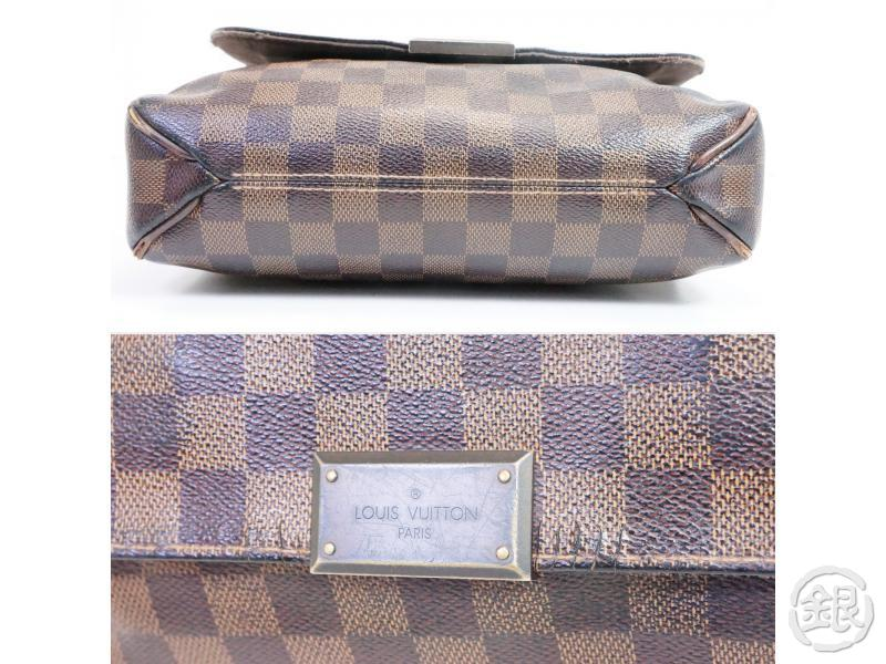 AUTHENTIC PRE-OWNED LOUIS VUITTON LV DAMIER EBENE DISTRICT PM CROSSBODY MESSENGER BAG N41213 200059