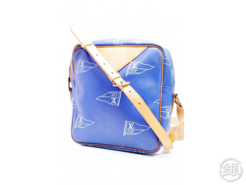 AUTHENTIC PRE-OWNED LOUIS VUITTON VUITTON CUP 92 SAC SAN DIEGO CROSSBODY MESSENGER BAG M80010 162137