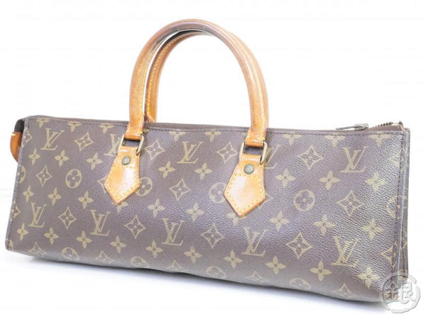 AUTHENTIC PRE-OWNED LOUIS VUITTON VINTAGE MONOGRAM SAC TRICOT TRIANGLE KNITTING NO.76 M51360 161855