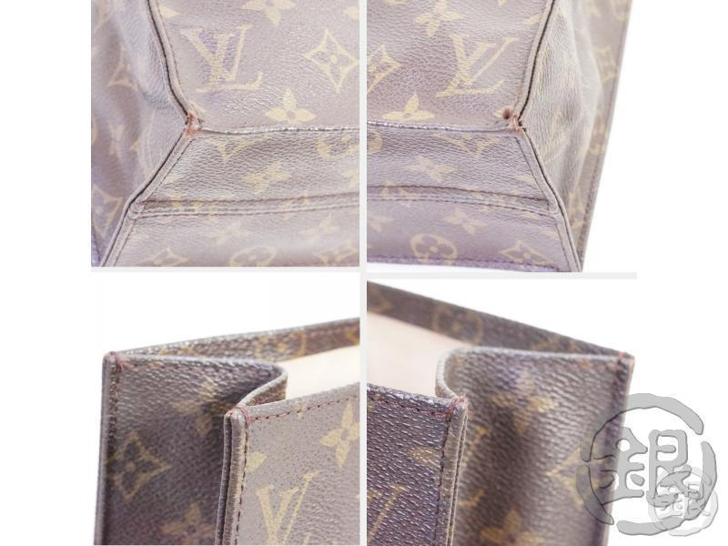 AUTHENTIC PRE-OWNED LOUIS VUITTON MONOGRAM SAC PLAT SHOPPING HAND TOTE BAG M51140 M40805 191162