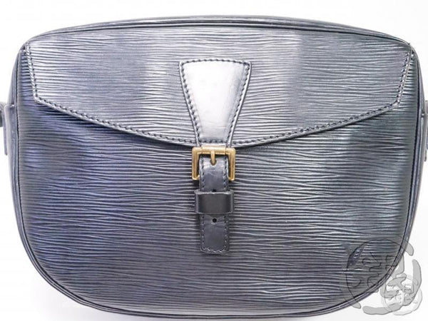 AUTHENTIC PRE-OWNED LOUIS VUITTON VINTAGE EPI NOIR JEUNE FILLE MESSENGER CROSSBODY BAG M52152 191999