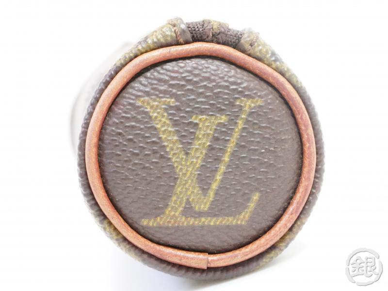 AUTHENTIC PRE-OWNED LOUIS VUITTON MONOGRAM ETUI 3 BALLES DE GOLF BALL CASE POUCH BAG M58249 200051