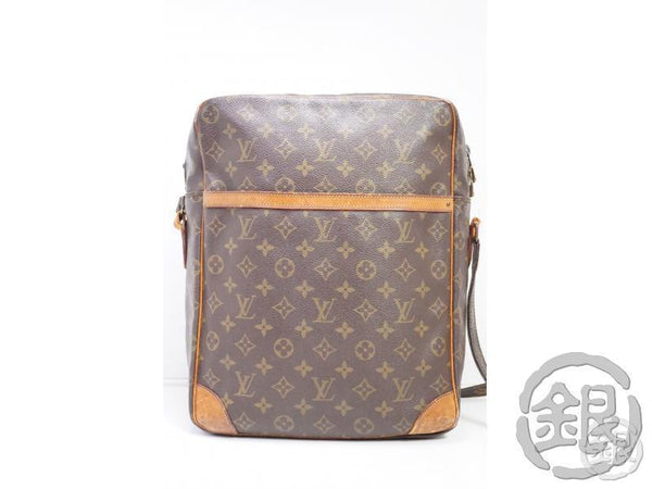 AUTHENTIC PRE-OWNED LOUIS VUITTON VINTAGE MONOGRAM DANUBE GM MESSENGER CROSSBODY BAG M45262 191910