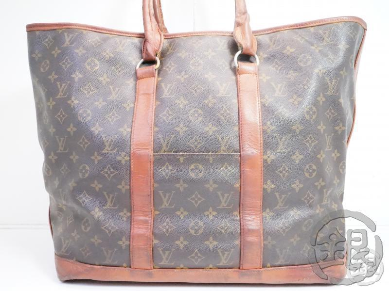 AUTHENTIC PRE-OWNED LOUIS VUITTON VINTAGE MONOGRAM SAC WEEKEND GM TOTE BAG M42420 No.184 200070