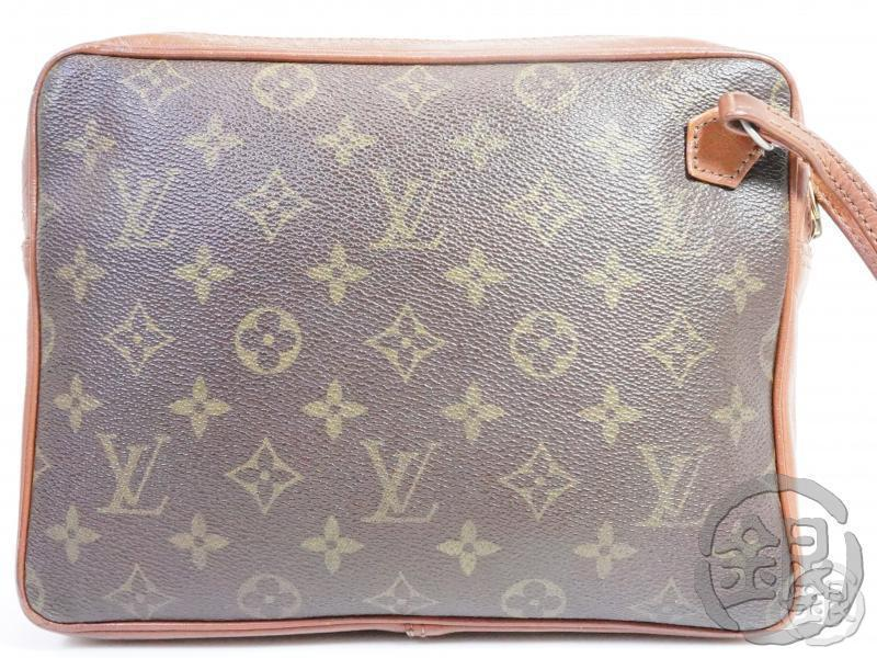 AUTHENTIC PRE-OWNED LOUIS VUITTON VINTAGE MONOGRAM POCHETTE SPORT CLUTCH BAG No.183 171623