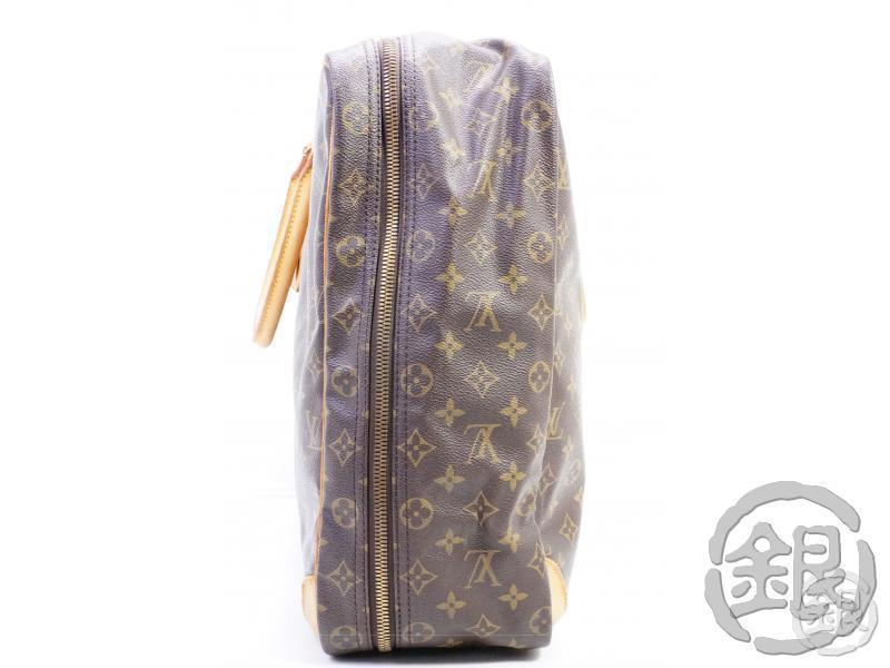 AUTHENTIC PRE-OWNED LOUIS VUITTON MONOGRAM SIRIUS 50 LARGE TRAVELING BAG SOFT SUITCASE M41406 181144