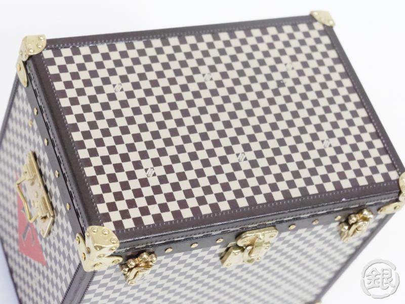 AUTHENTIC PRE-OWNED LOUIS VUITTON VIP LIMITED NOVELTY MALLE CHAPEAU TRUNK BOX JEWELRY CASE 150594