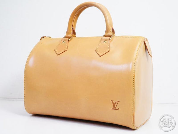 AUTHENTIC PRE-OWNED LOUIS VUITTON JAPAN 15TH LIMITED NOMADE VACHETTA LEATHER SPEEDY 30 M85392 191665
