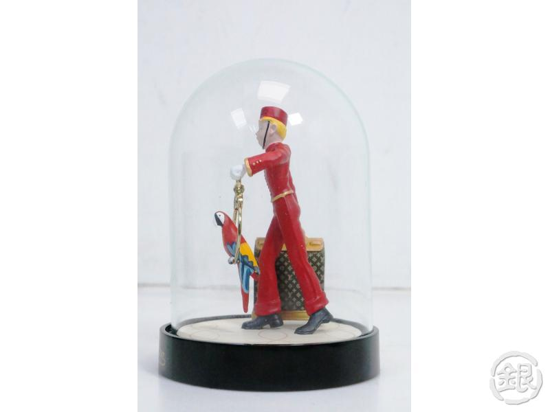 AUTHENTIC PRE-OWNED LOUIS VUITTON 2012 VIP LIMITED LE GROOM PAGEBOY STEAMER SNOW GLOBE M99551 190325