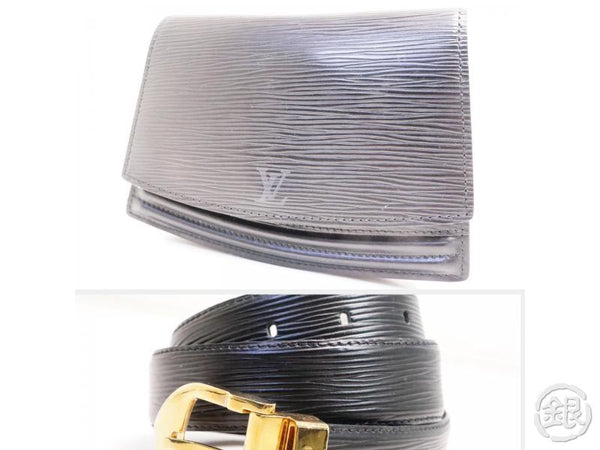 AUTHENTIC PRE-OWNED LOUIS VUITTON EPI POCHETTE CEINTURE TILSITT POUCH BUM BAG w/ BELT M52602 162550