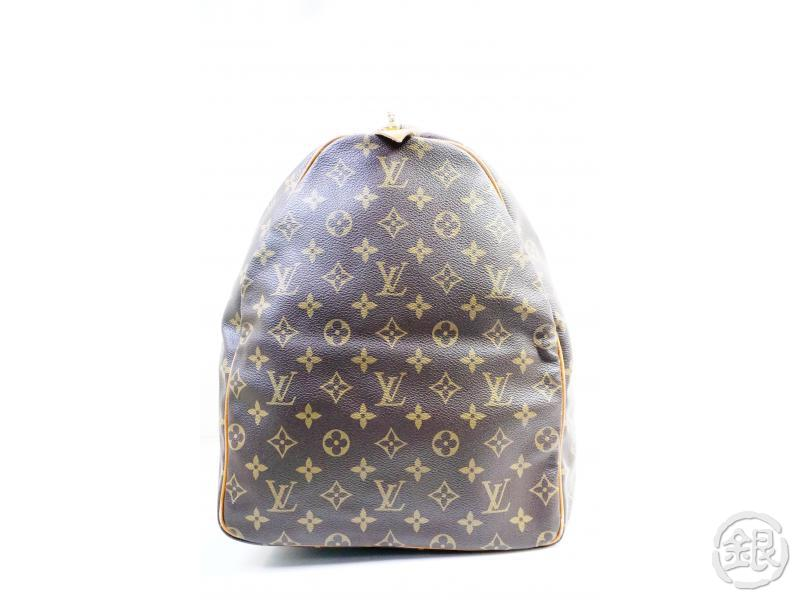 AUTHENTIC PRE-OWNED LOUIS VUITTON VINTAGE MONOGRAM KEEPALL 60 TRAVELING BAG DUFFLE M41422 153500