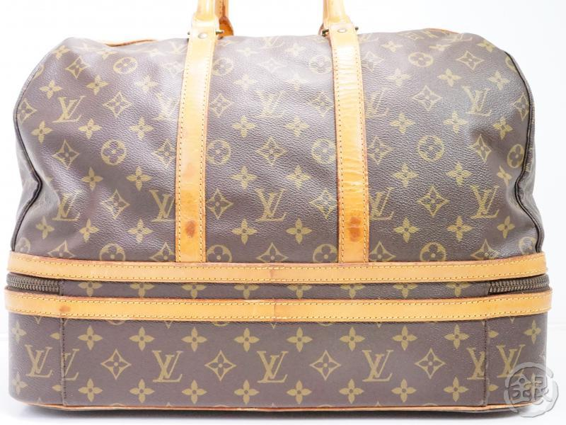 AUTHENTIC PRE-OWNED LOUIS VUITTON VINTAGE MONOGRAM SAC SPORT SOFT LUGGAGE BAG M41444 162012