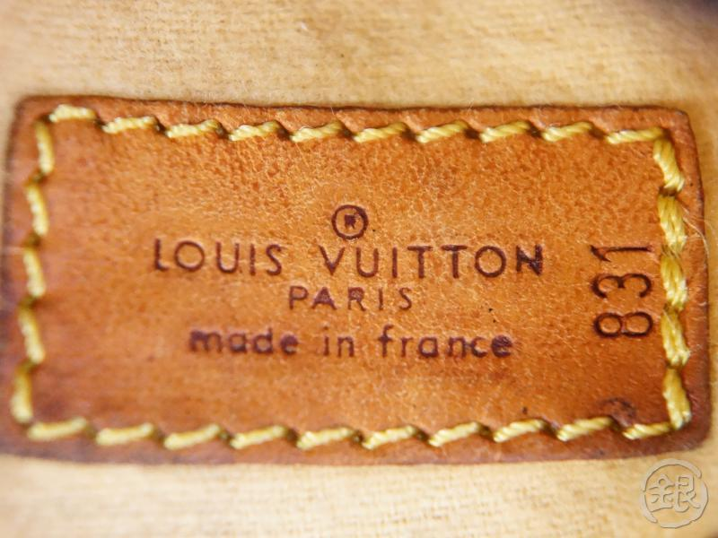 AUTHENTIC PRE-OWNED LOUIS VUITTON MONOGRAM PROTEGE-BOIS No. 2&3 GOLF CLUB HEAD COVER M58242 131506
