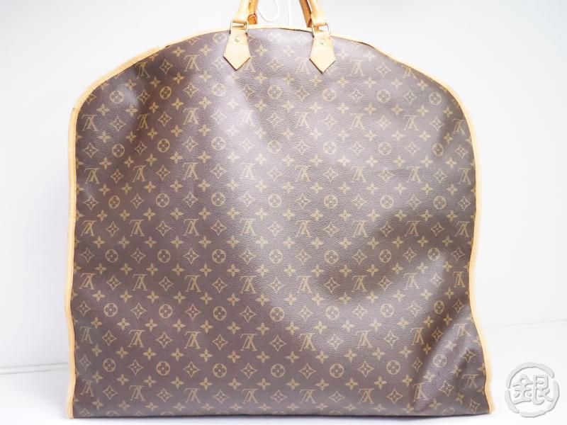 AUTHENTIC PRE-OWNED LOUIS VUITTON MONOGRAM HOUSSE PORTE-HABITS GARMENT COVER BAG 125 M23432 171467