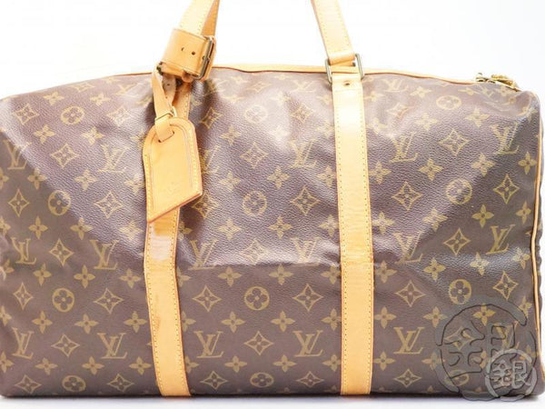 AUTHENTIC PRE-OWNED LOUIS VUITTON VINTAGE MONOGRAM SAC SOUPLE 45 TRAVELING DUFFLE BAG M41624 B171173