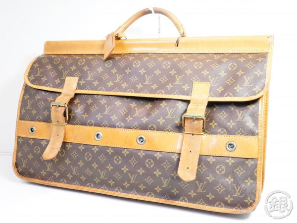 AUTHENTIC PRE-OWNED LOUIS VUITTON VINTAGE MONOGRAM SAC GIBIER CHASSE HUNTING BAG No.83 M58120 141437