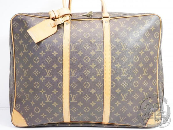 AUTHENTIC PRE-OWNED LOUIS VUITTON MONOGRAM SIRIUS 50 LARGE TRAVELING BAG SOFT SUITCASE M41406 160140