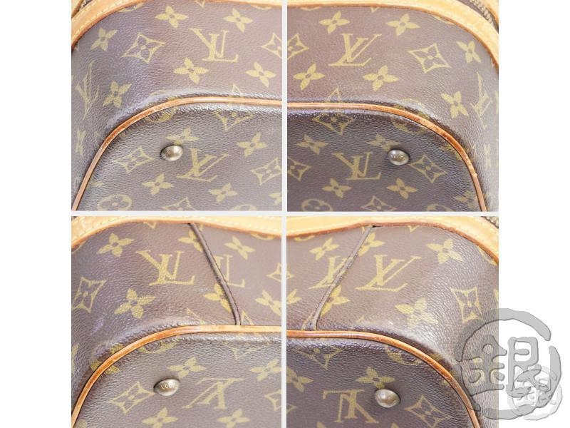 AUTHENTIC PRE-OWNED LOUIS VUITTON VINTAGE MONOGRAM SAC SPORT SOFT LUGGAGE BAG M41444 151128