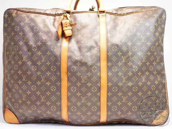 AUTHENTIC PRE-OWNED LOUIS VUITTON MONOGRAM SIRIUS 70 BIG TRAVELING BAG SOFT SUITCASE M41400 171702