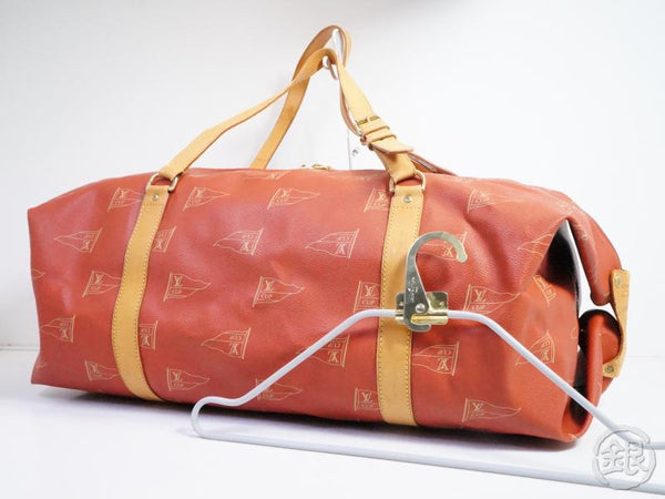 AUTHENTIC PRE-OWNED LOUIS VUITTON CUP '95 SAC CABOURG GARMENT DUFFLE 2-WAY TRAVEL BAG M80020 162262
