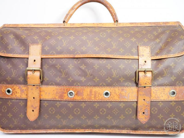 AUTHENTIC PRE-OWNED LOUIS VUITTON VINTAGE MONOGRAM SAC GIBIER CHASSE HUNTING BAG No.83 M58120 191183