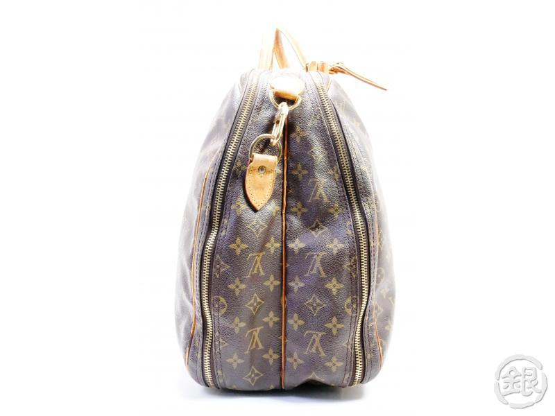 AUTHENTIC PRE-OWNED LOUIS VUITTON MONOGRAM ALIZE 2 POCHES 2-WAY COMPARTMENT TRAVEL BAG M41392 191909