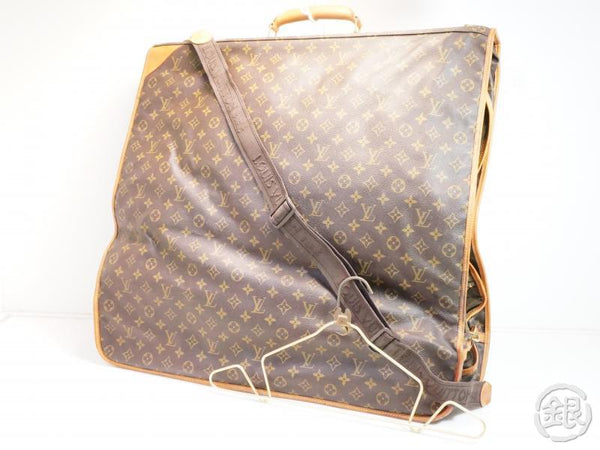 AUTHENTIC PRE-OWNED LOUIS VUITTON VINTAGE MONOGRAM PORTABLE CABINE TRAVEL GARMENT BAG M23416 172691