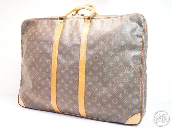 AUTHENTIC PRE-OWNED LOUIS VUITTON VINTAGE MONOGRAM SIRIUS 60 TRAVEL LUGGAGE SUITCASE M41402 190751