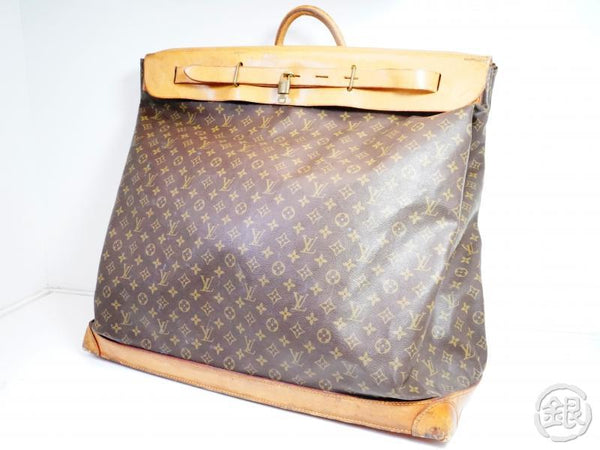 AUTHENTIC PRE-OWNED LOUIS VUITTON LV VINTAGE MONOGRAM STEAMER BAG 65 TRAVEL BAG No.57 M41122 171888