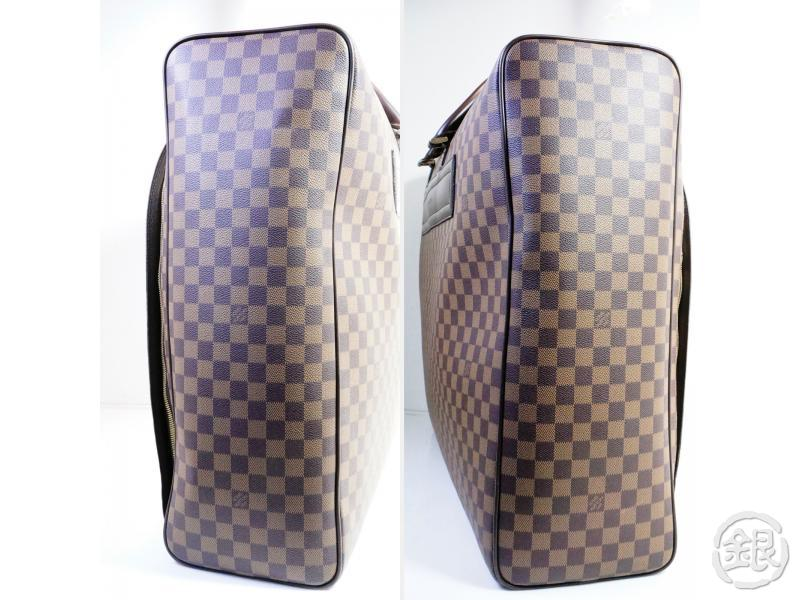 AUTHENTIC PRE-OWNED LOUIS VUITTON DAMIER EBENE NOLITA GM TRAVELING BAG SOFT SUITCASE N41451 180279