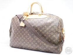 AUTHENTIC PRE-OWNED LOUIS VUITTON MONOGRAM ALIZE 2 POCHES 2-WAY COMPARTMENT TRAVEL BAG M41392 192005