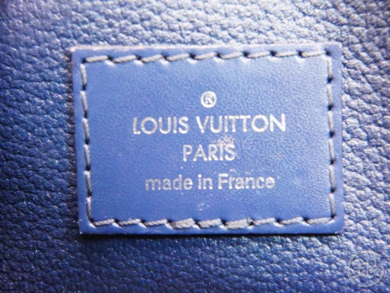 AUTHENTIC PRE-OWNED LOUIS VUITTON EPI INDIGO BLUE NAVY POCHETTE COSMETIC POUCH BAG M40638 200094