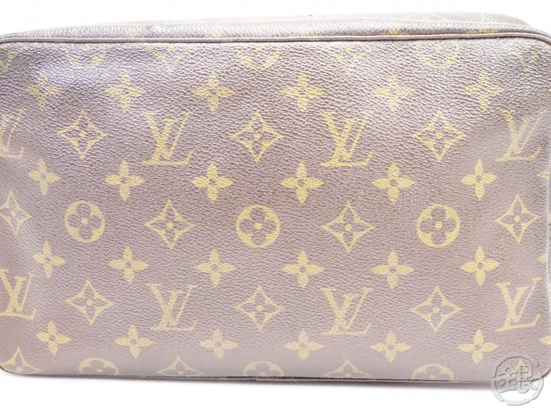 AUTHENTIC PRE-OWNED LOUIS VUITTON MONOGRAM VINTAGE TROUSSE TOILETTE GM COSMETIC POUCH M47522 200105