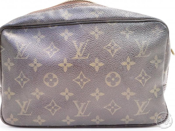 AUTHENTIC PRE-OWNED LOUIS VUITTON MONOGRAM VINTAGE TROUSSE TOILETTE 23 COSMETIC POUCH M47524 200102