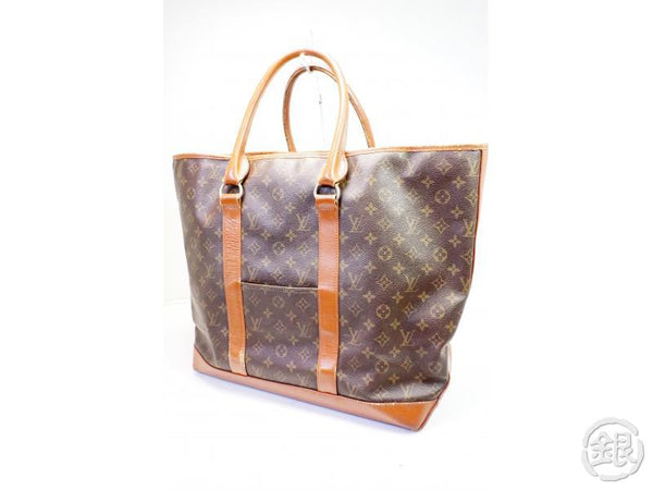 AUTHENTIC PRE-OWNED LOUIS VUITTON VINTAGE MONOGRAM SAC WEEKEND GM TOTE BAG M42420 No.184 200087