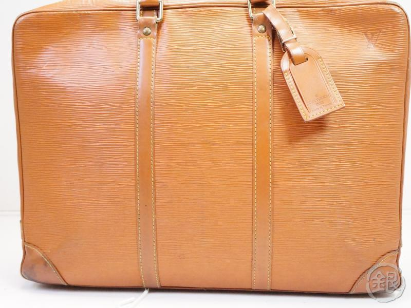 AUTHENTIC PRE-OWNED LOUIS VUITTON LV EPI GOLD CIPANGO PORTE-DOCUMENTS VOYAGE HAND BAG M54478 200113
