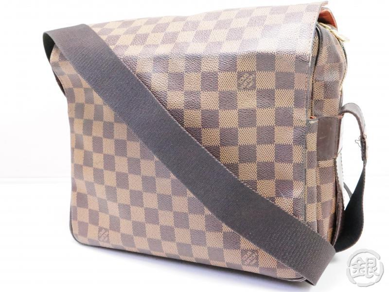 AUTHENTIC PRE-OWNED LOUIS VUITTON LV DAMIER EBENE NAVIGLIO MESSENGER CROSSBODY BAG N45255 200109