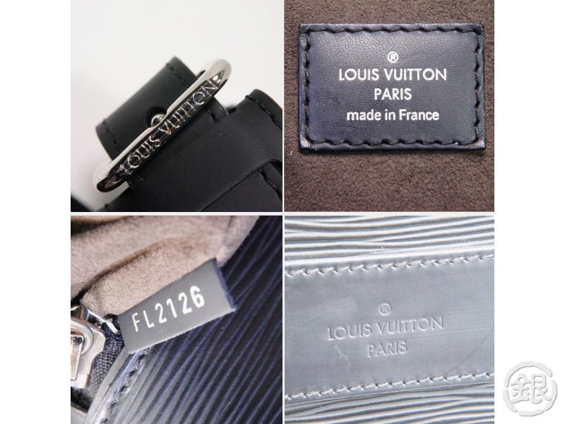 AUTHENTIC PRE-OWNED LOUIS VUITTON EPI BLACK PDB PORTE-DOCUMENTS BANDOULIERE 2-WAY BAG M54092 200100