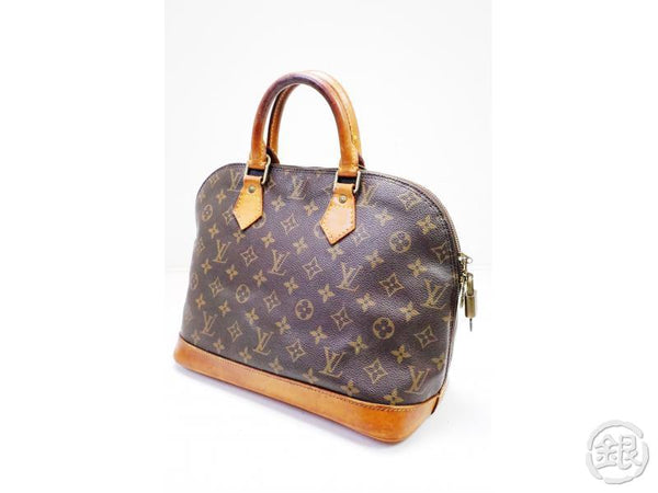 AUTHENTIC PRE-OWNED LOUIS VUITTON LV MONOGRAM ALMA PM HAND TOTE BAG M51130 M53151 200127