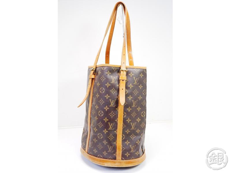 AUTHENTIC PRE-OWNED LOUIS VUITTON LV MONOGRAM LARGE BUCKET GM SHOULDER TOTE BAG M42236 200101