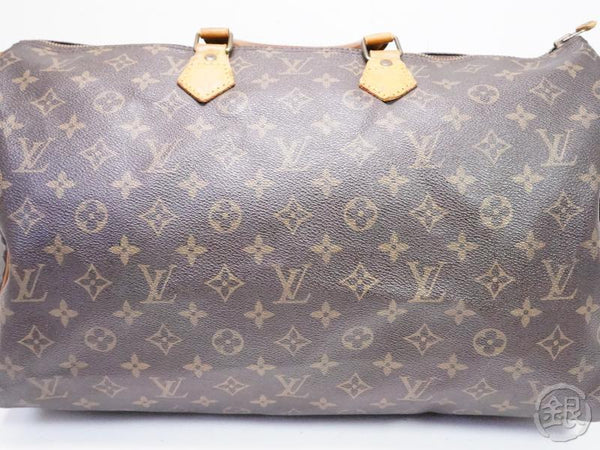 AUTHENTIC PRE-OWNED LOUIS VUITTON VINTAGE SPEEDY 40 MONOGRAM DUFFLE HAND BAG M41522 M41106 200107