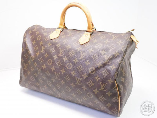 AUTHENTIC PRE-OWNED LOUIS VUITTON VINTAGE SPEEDY 40 MONOGRAM DUFFLE HAND BAG M41522 M41106 200140