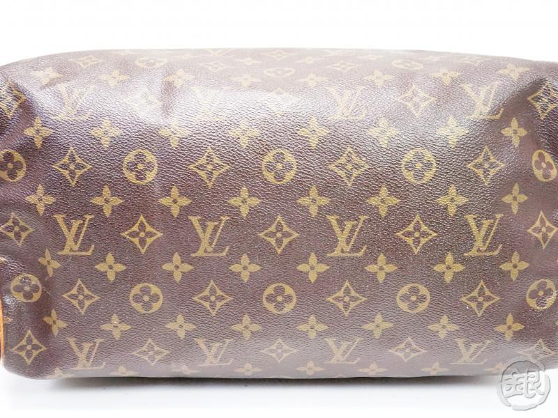 AUTHENTIC PRE-OWNED LOUIS VUITTON VINTAGE MONOGRAM SPEEDY 35 DUFFLE BAG PURSE M41524 M41107 200130