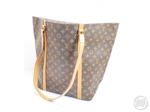 AUTHENTIC PRE-OWNED LOUIS VUITTON MONOGRAM SAC SHOPPING 60 GM SHOULDER TOTE BAG M51110 200129