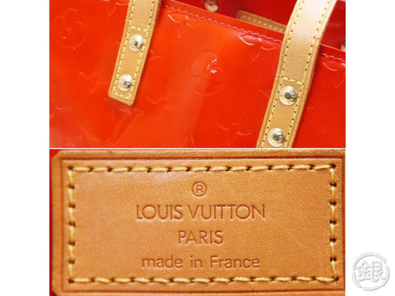 AUTHENTIC PRE-OWNED LOUIS VUITTON LV VERNIS ROUGE RED READE PM MINI HAND TOTE BAG M91088 200137