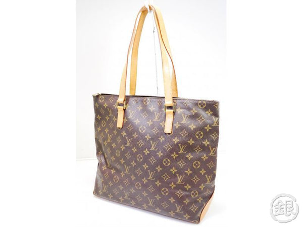 AUTHENTIC PRE-OWNED LOUIS VUITTON MONOGRAM CABAS MEZZO LARGE SHOULDER TOTE BAG M51151 200141